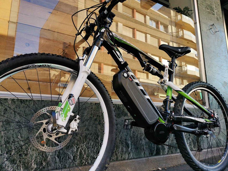 kit velo electrique moteur pedalier